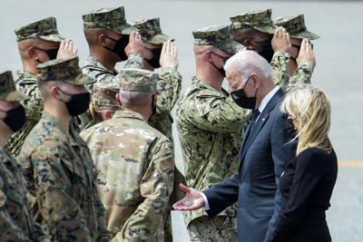 Afghanistan Biden Troops