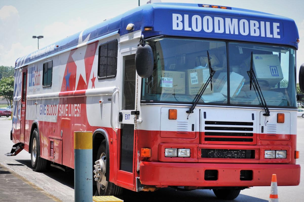 LifeSouth Bloodmobile