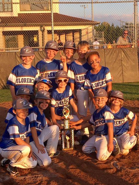 Florence 7U baseball team