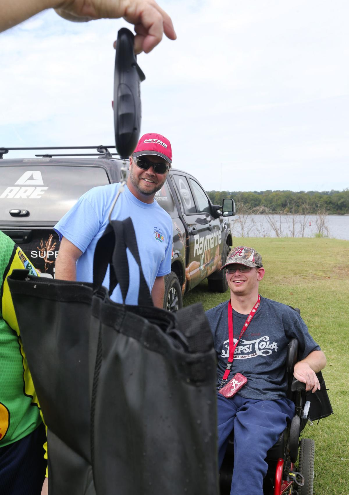Kids fishing event brings smiles and cheers local news for Tim horton fishing