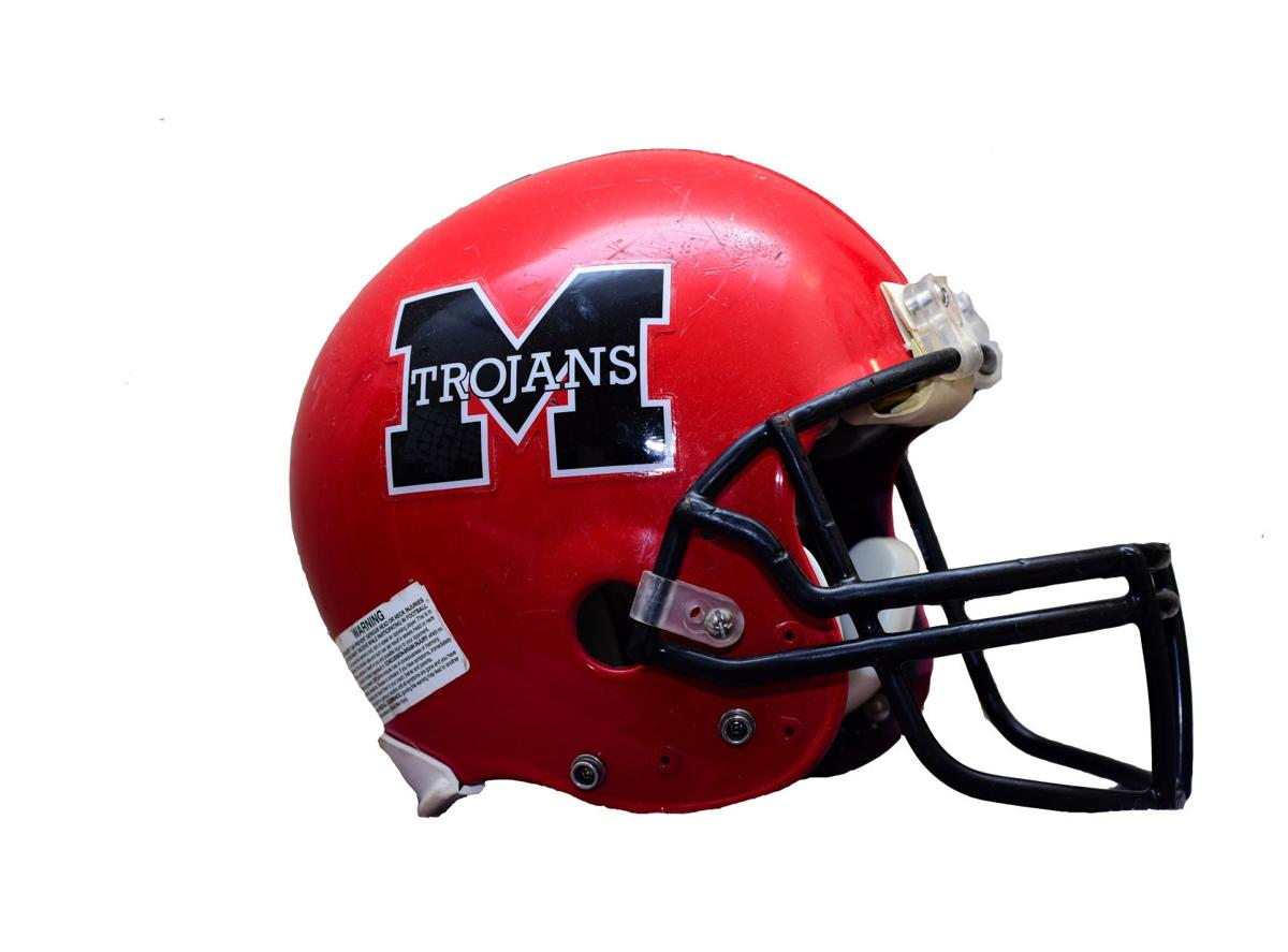 Muscle Shoals helmet cutout