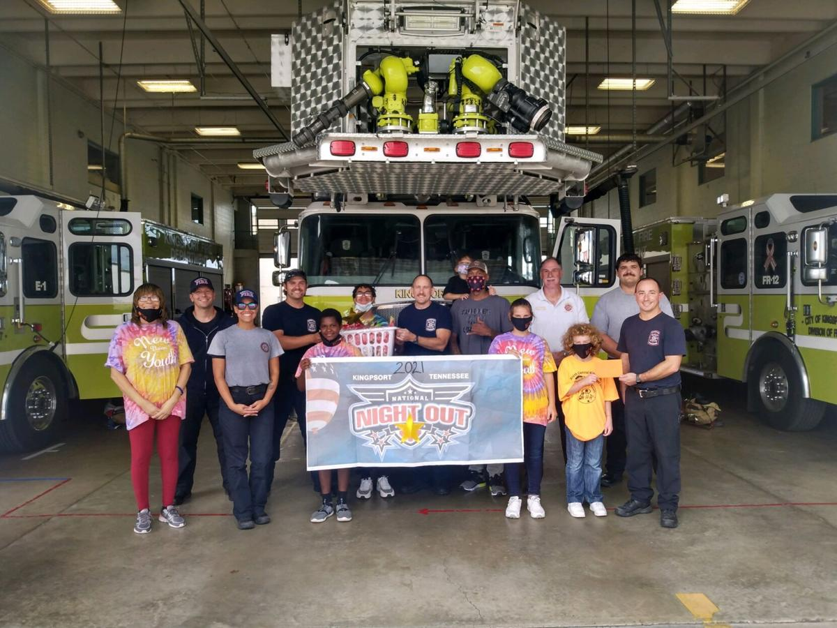 New Vision visits Kingsport Fire Department