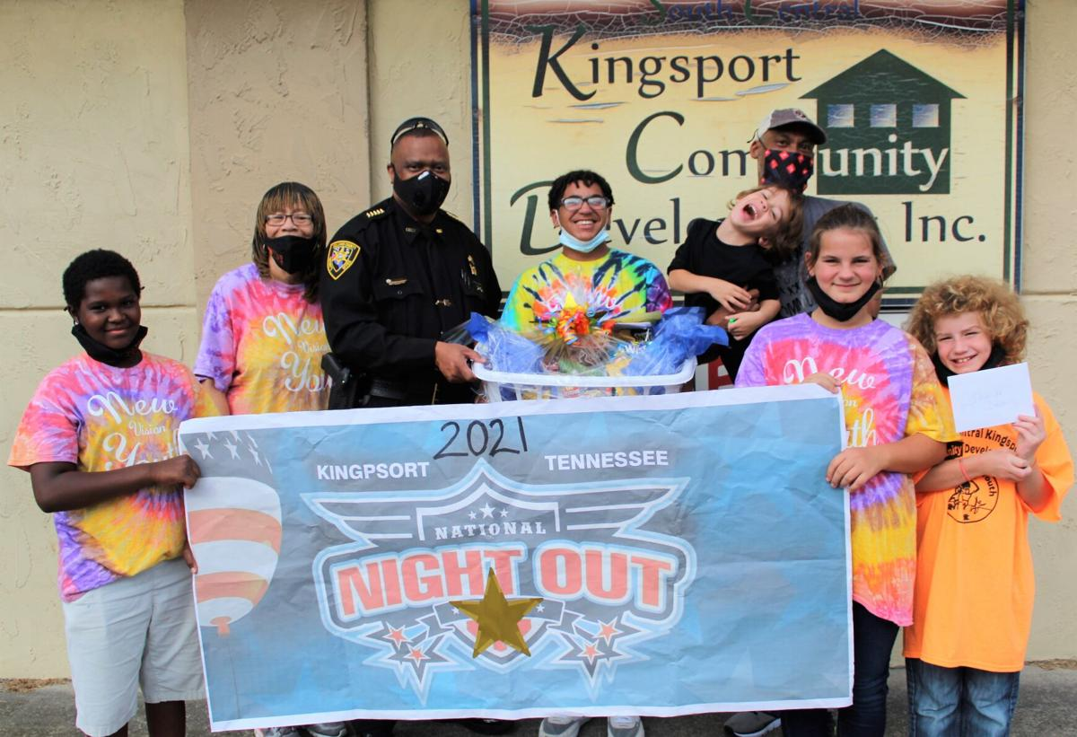 New Vision delivers treat basket to Sullivan County Sheriff's Office