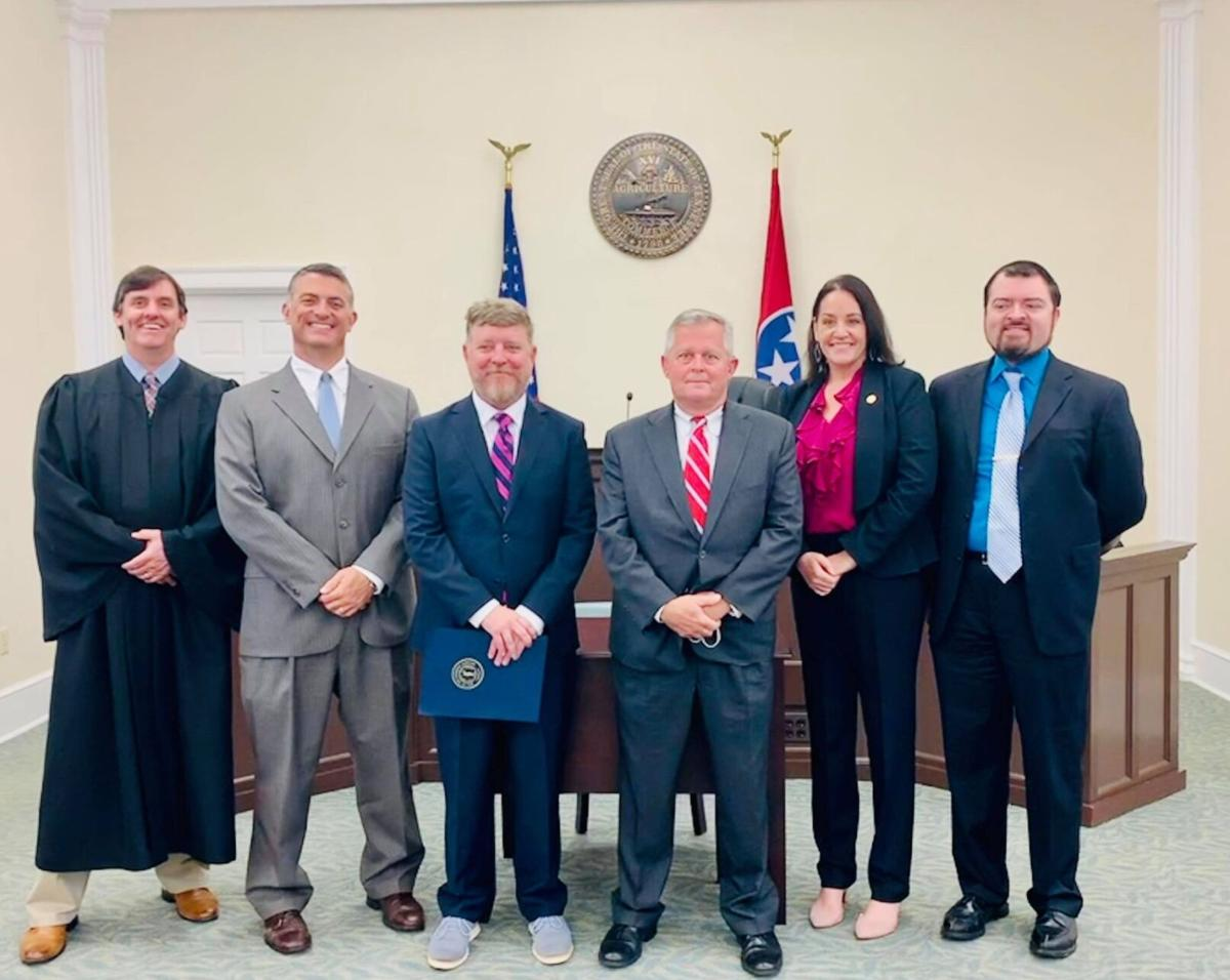 William Phillips II was sworn in as the Third Judicial District Circuit Judge on Tuesday, Oct. 12, 2021
