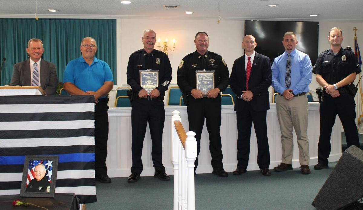 Holy Mountain Baptist honors law enforcement officers
