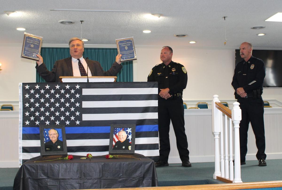 Holy Mountain Baptist honors Kingsport, Sullivan officers