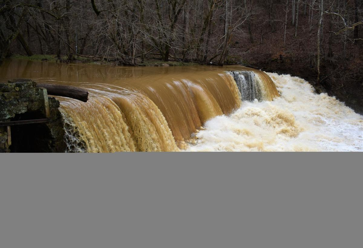 Rogersville's historic Amis Dam strained by floodwater, in need of renovation