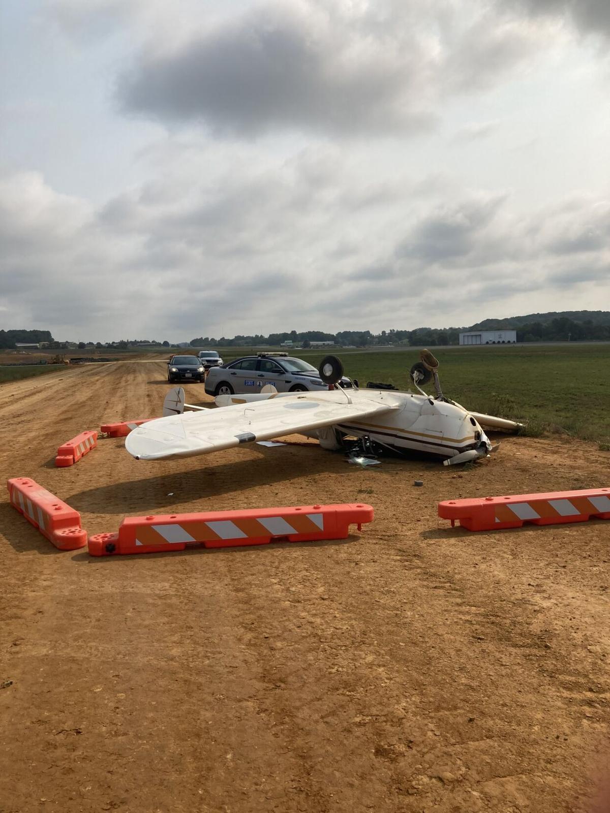 9-13-21 Airplane Crash at VA Highlands Airport