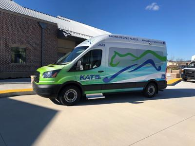 KATS launches new logo on new vehicles
