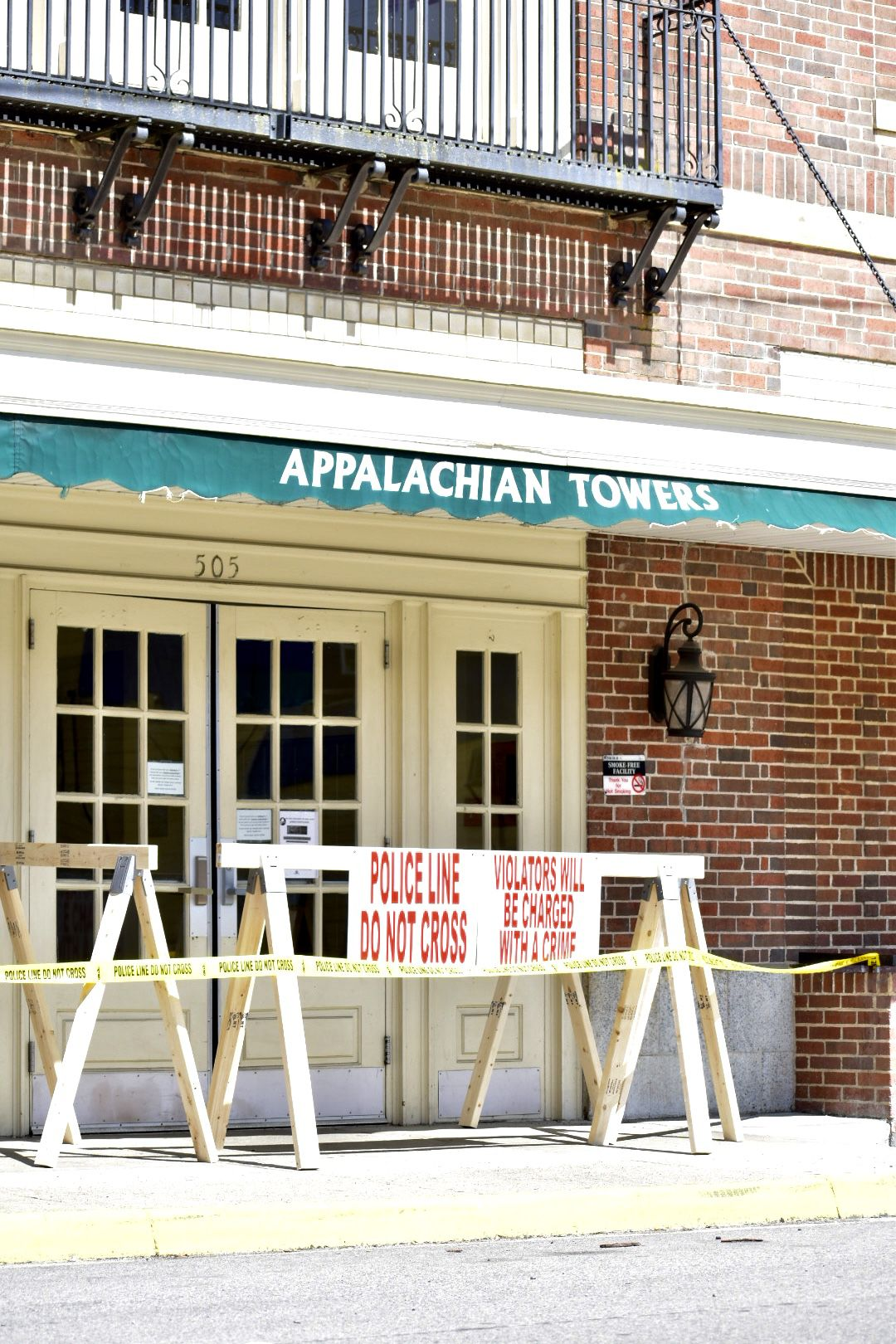 Appalachia building quarantined for COVID-19 cases