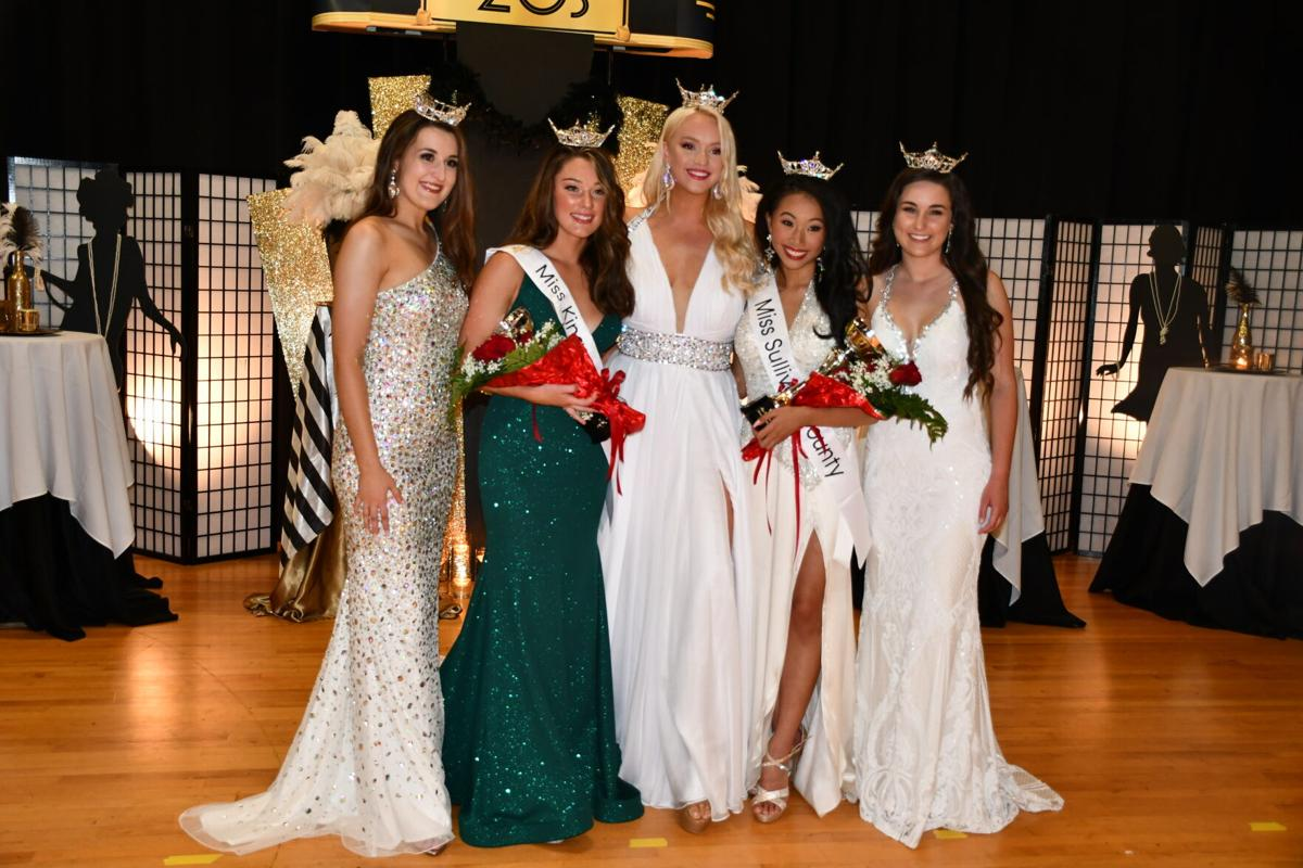 The passing of the crowns, sashes and titles: Lauren Ross is new Miss Kingsport; Eliza Sanders is new Miss Sullivan County.