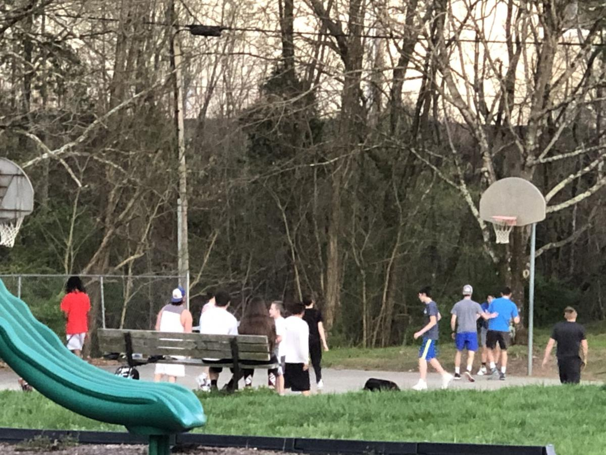 Time out — Kingsport removes rims from outdoor basketball goals