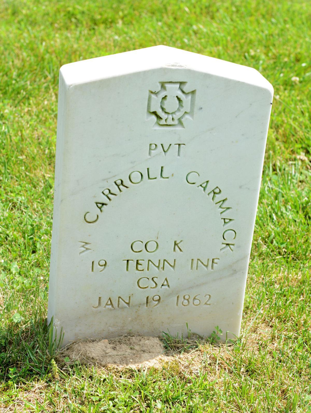 Carmack grave