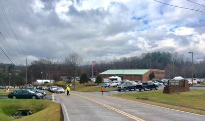 COVID-19 vaccine traffic at Sullivan County Regional Health Department