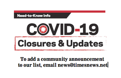 Times News Blog: Latest on local impact of COVID-19