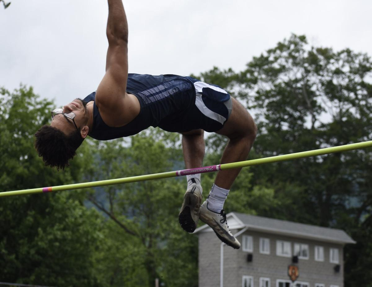Malachi Jenkins high jump