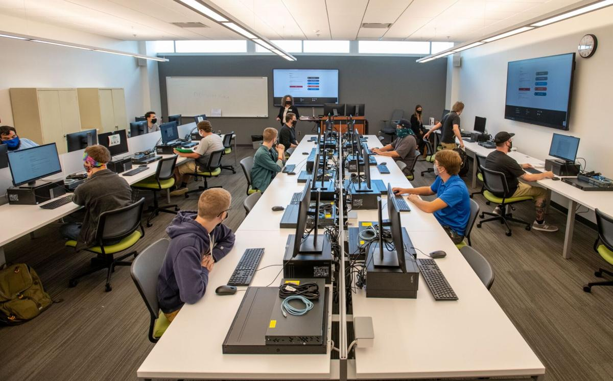 Northeast Technical Education Complex classroom, fall 2020