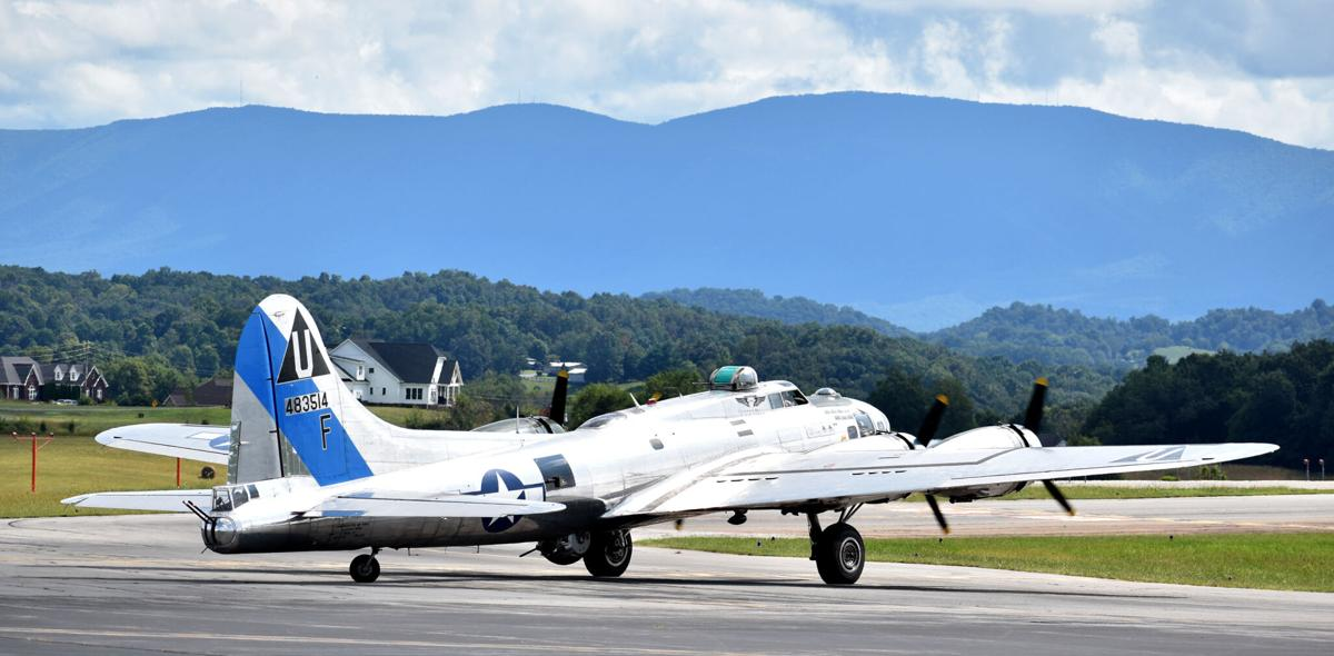 """B-17G """"Sentimental Journey"""" at Tri Cities Airport 09-11-2020"""