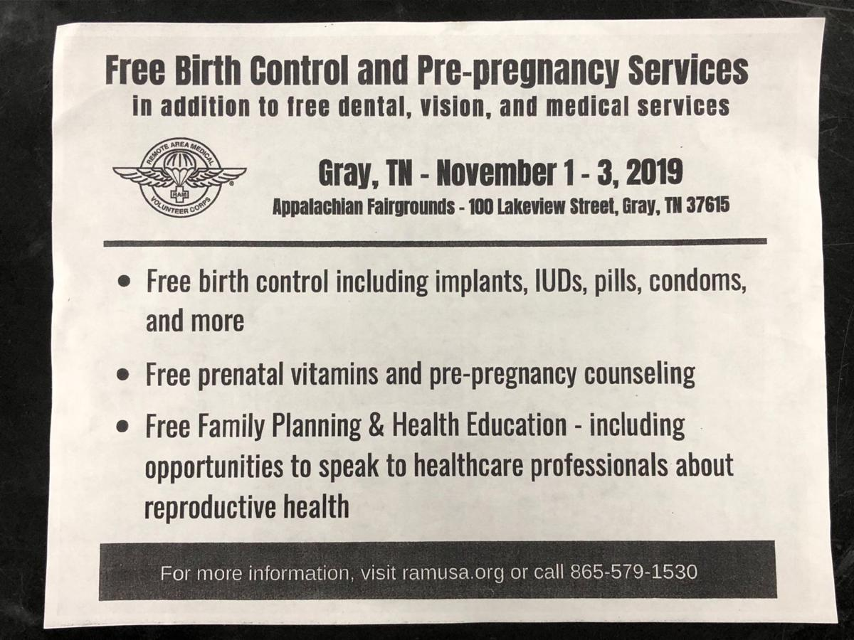 RAM birth control flier from school upsets father of 7-year-old Piney Flats student
