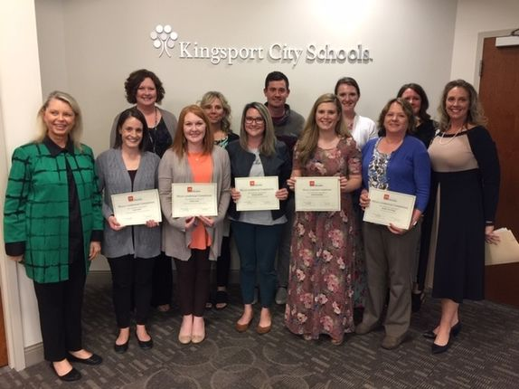 Kingsport educators recognized for Micro-credentials, Google Educator certifications