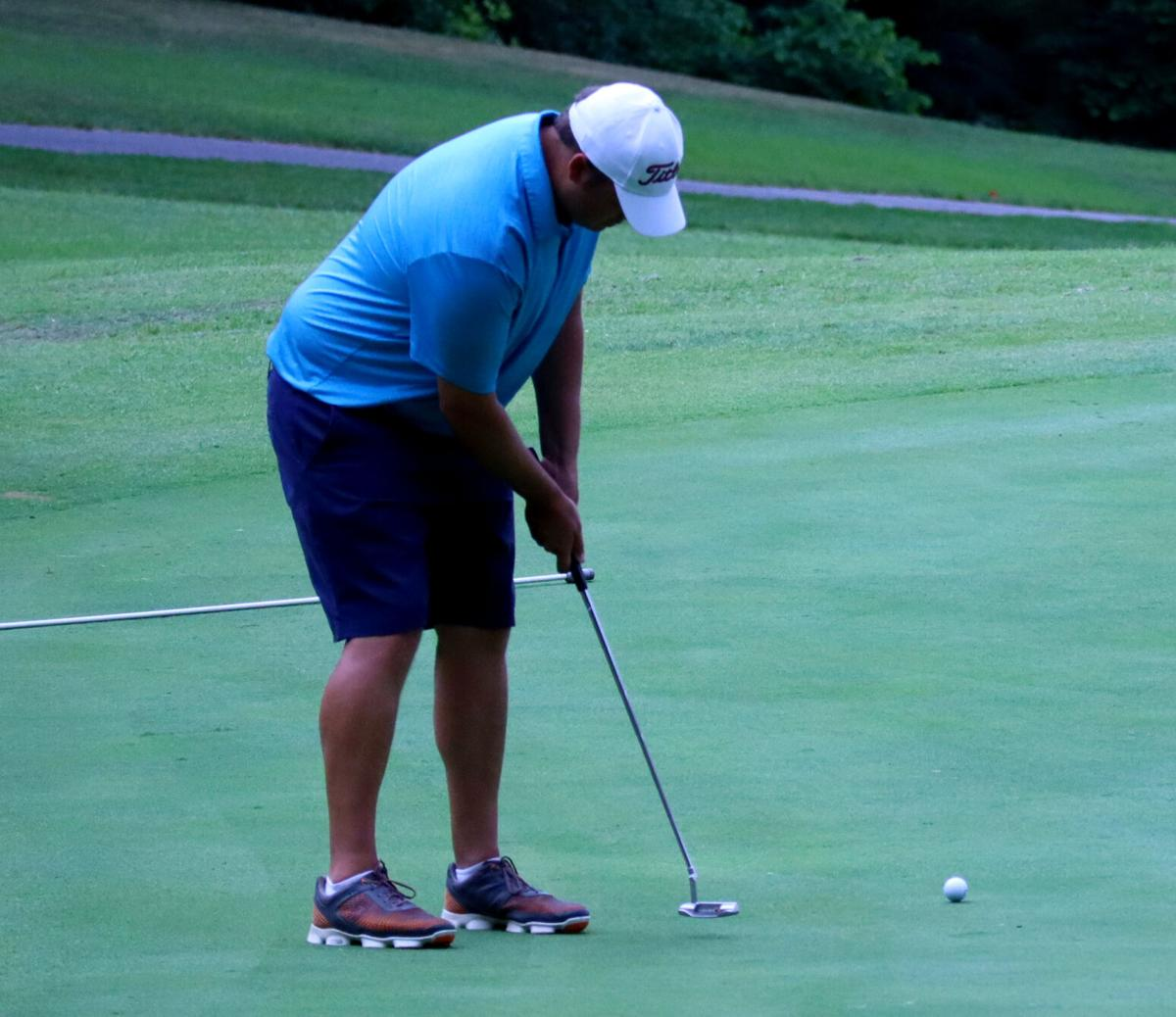 Reasor plays his way into the record book at Lonesome PIne Invitational