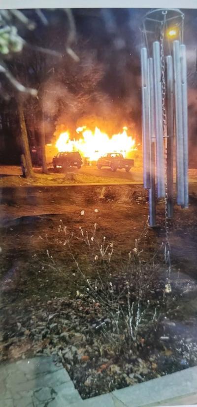 House fire on Inglewood Drive