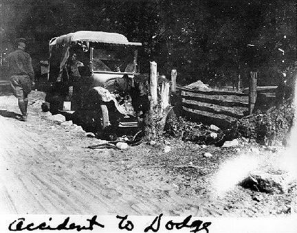 More on the 1919 convoy for the antique truck and car fans