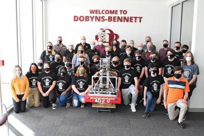 Dobyns-Bennett High School 2021 Cyber Tribe robotics team