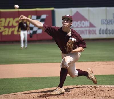 Vikings pitcher Mason Johns
