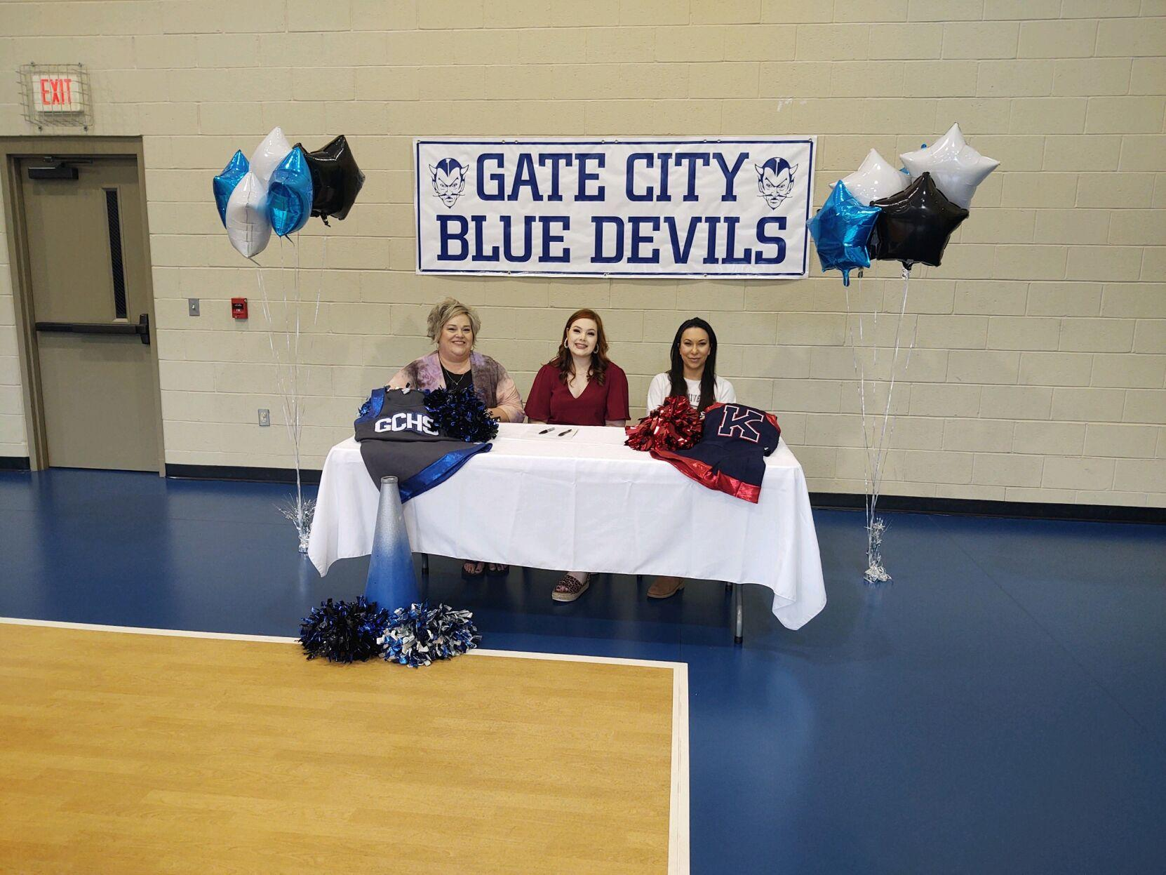 Gate City's Piper Banks Vaughn signs with King