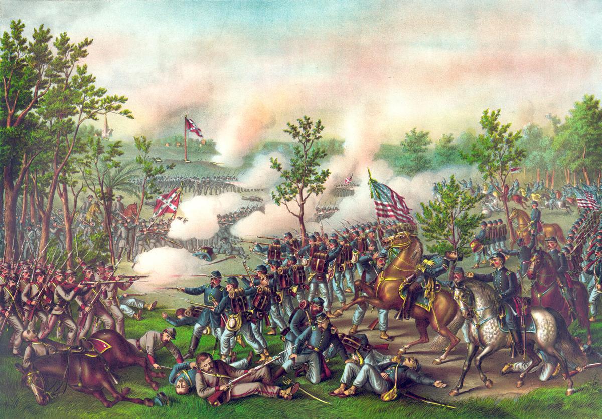 Battle of Atlanta 22nd July, 1864