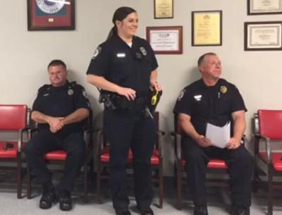 Church Hill BMA welcomes city's first full-time female officer