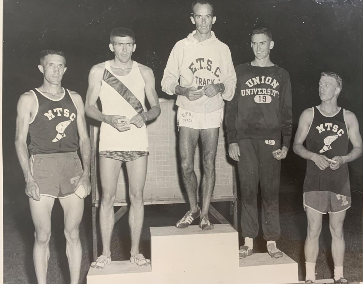Kent Osborne at ETSC, 1957