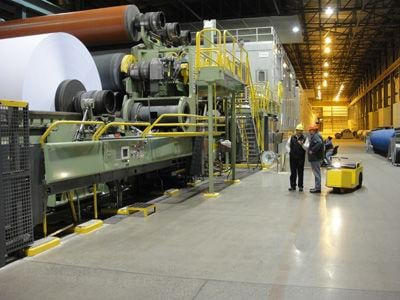 Domtar paper mill is approaching its centennial celebration