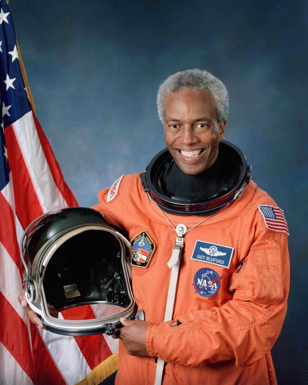 Guion Bluford, first Black American in space