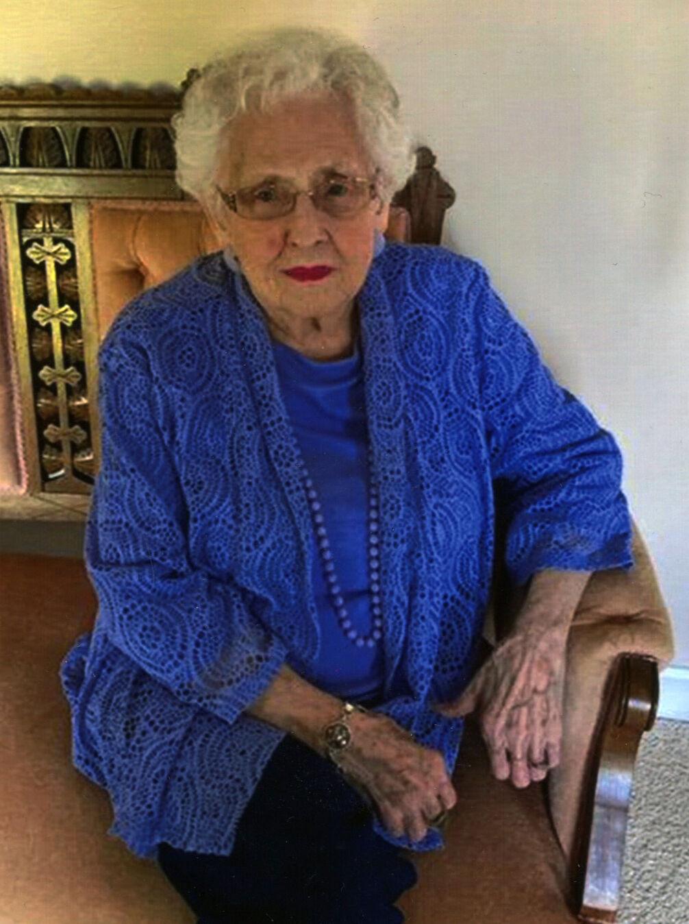 Ruthie Turns 100
