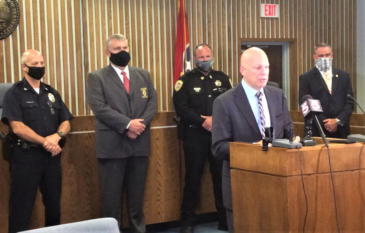 Sullivan County Drug Related Death Task Force press conference, August 14, 2020