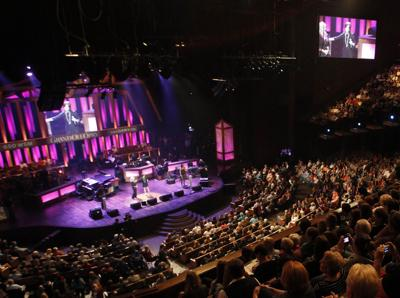 Grand Ole Opry to play on in an empty theater
