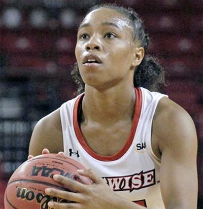 UVA Wise Cavaliers sophomore guard Nia Vanzant