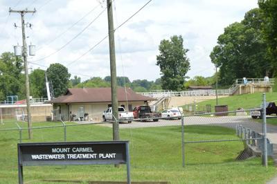 Mount Carmel sewer Treatment plant