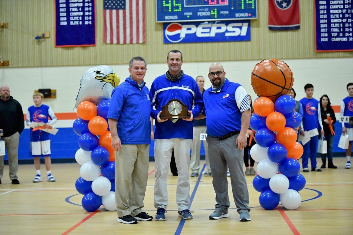 Holston honors Coach Jared Harrison