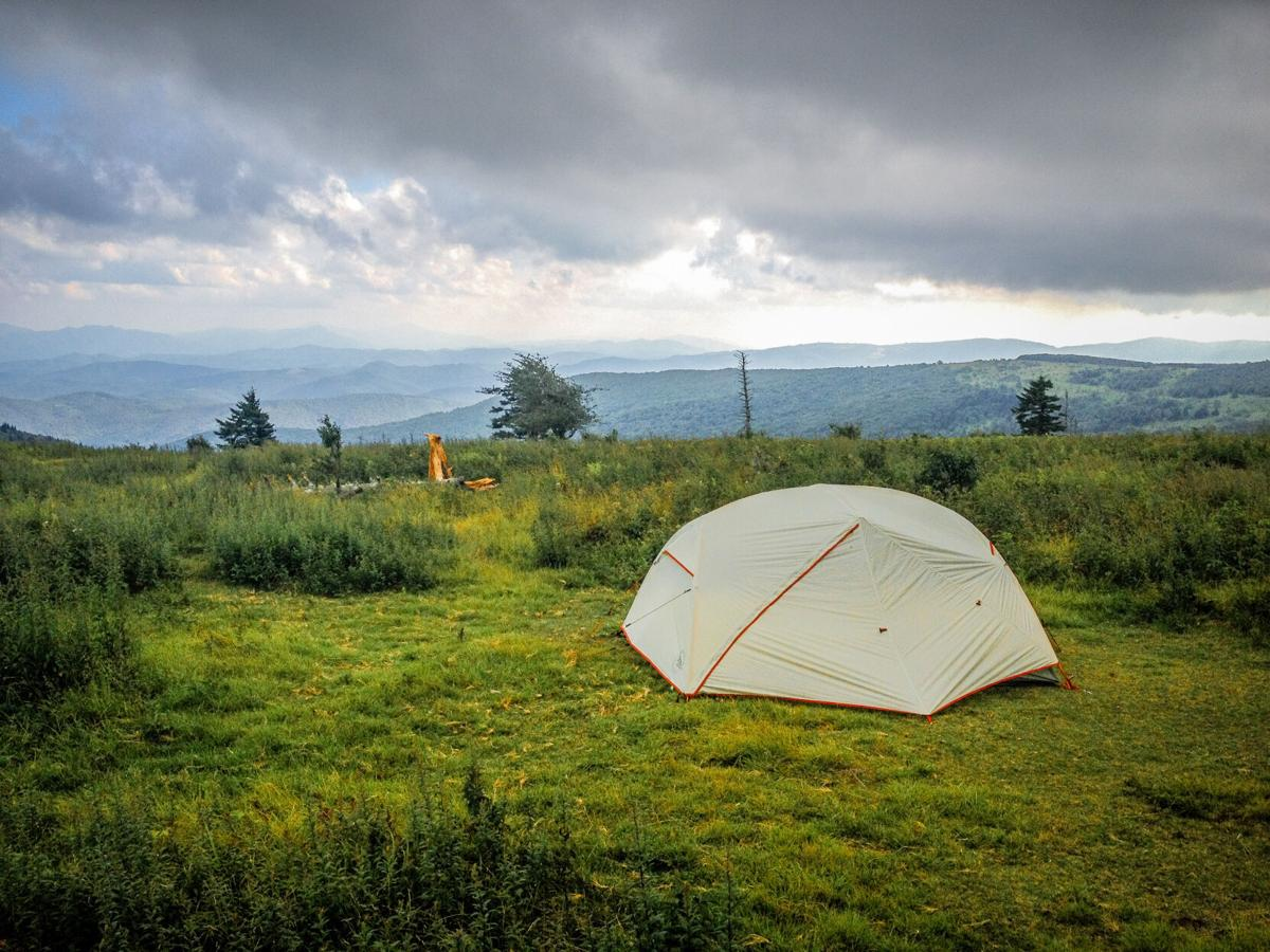 Appalachian Trail campsite