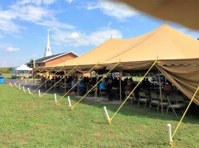 The tent shall rise again for the 170th annual Eastern District Association of Primitive Baptists