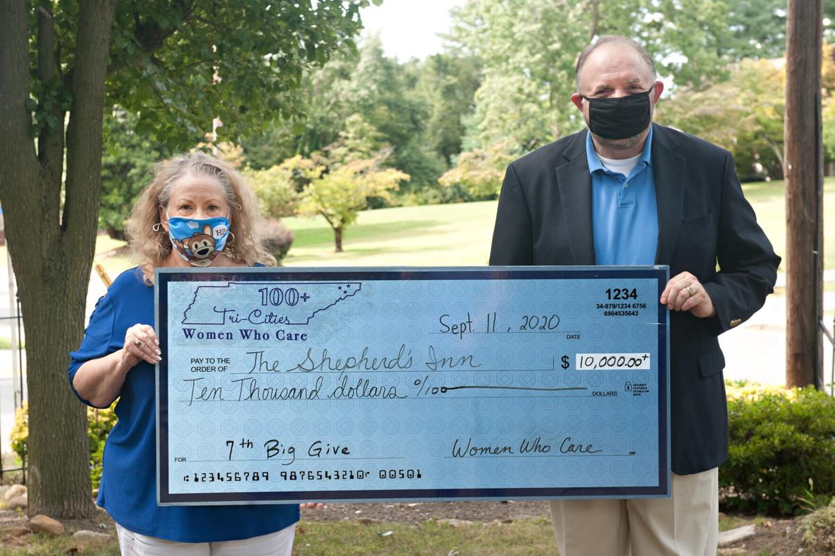 Shepherd's Inn receives $10,600 from Giving Circle