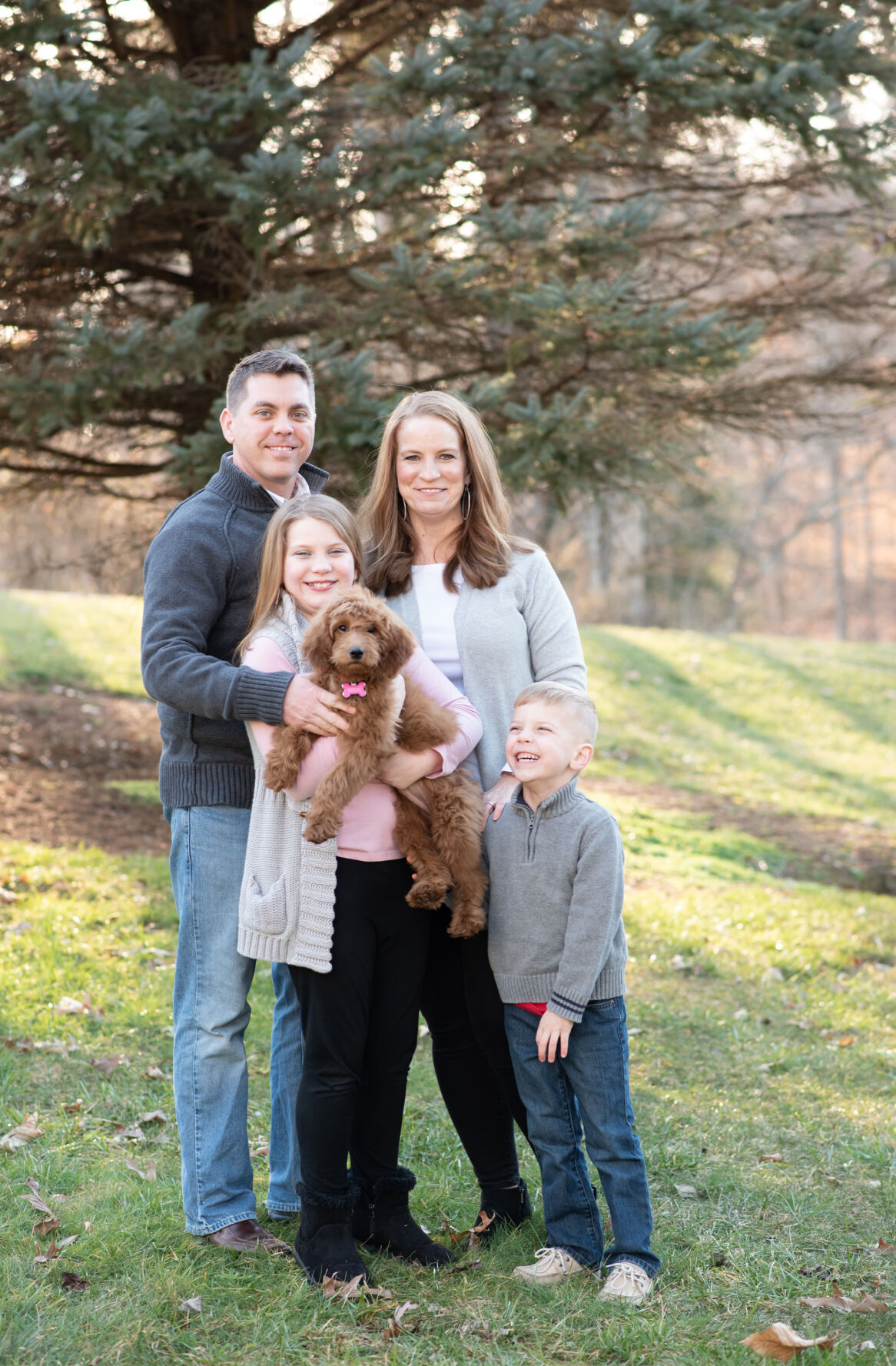 Brandon Fletcher and his family