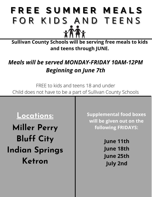 Sullivan County Summer Feeding Program