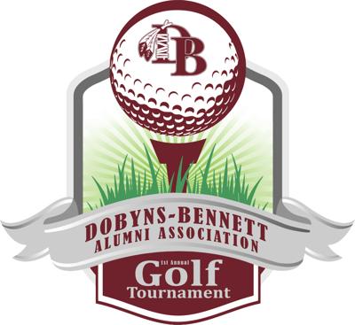 Dobyns-Bennett alumni golf tournament logo