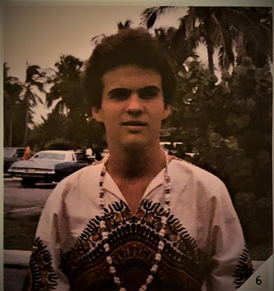 J..H. Osborne, 17, in the Bahamas, 1980