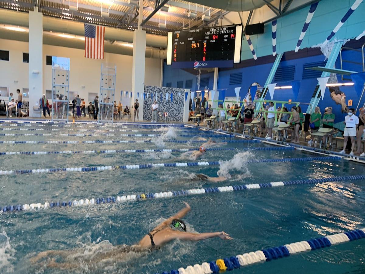Piranhas Swim Team Hosts Largest Meet Ever at Kingsport Aquatic Center