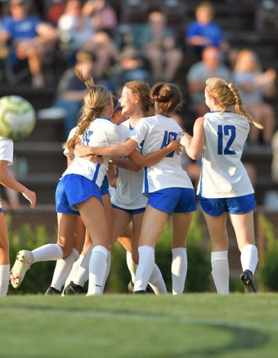 Crockett at West Ridge girls soccer